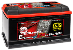 Akumulator ZAP AGM Expedition Plus 95Ah
