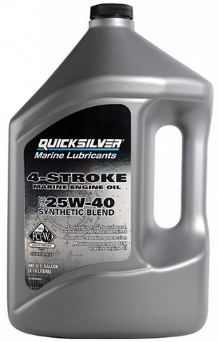 Olej Quicksilver 25W-40 Synthetic 3,78L